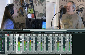 Ken Theriot and LIsa Theriot Recording